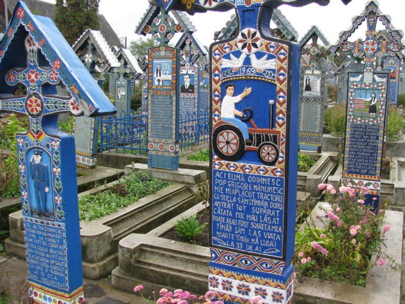 El cementerio alegre de Sapantza