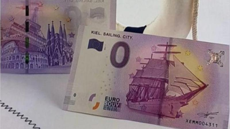 El billete de cero euros que vale 2,5 (y que seguramente los coleccionistas llegarán a pagar mucho más)