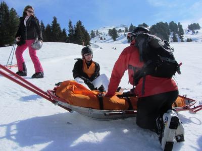Los accidentes más comunes en la práctica del esquí